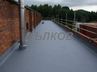 Хидроизолация за покриви, изложени на умерен пешеходен трафик